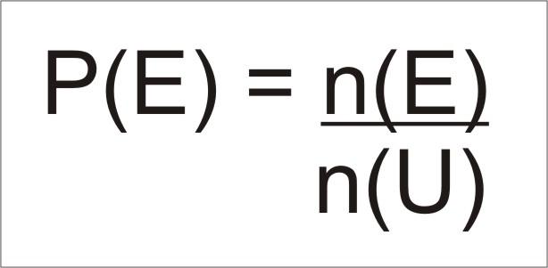 Formula de probabilidade
